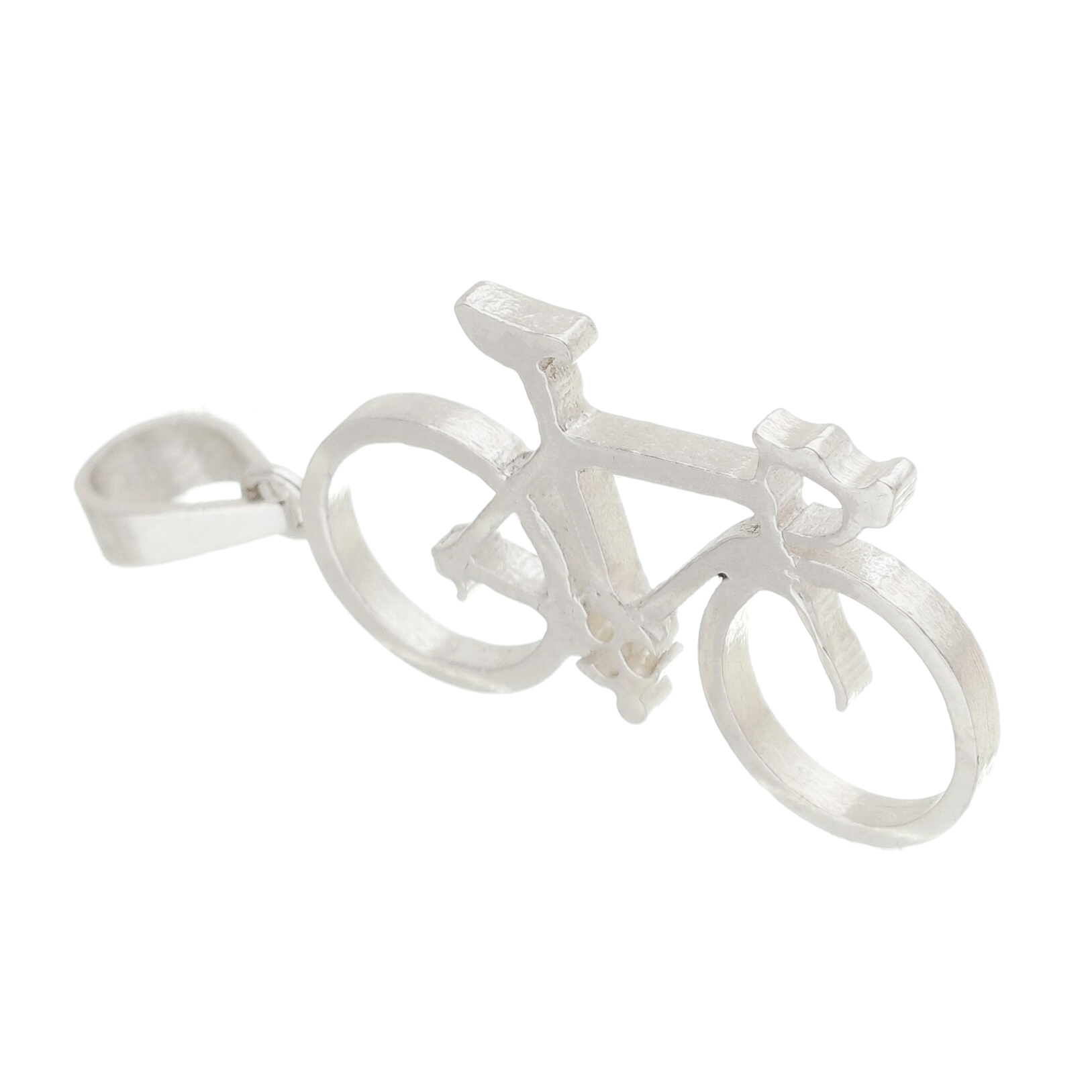 bicicleta ciclista pingente colar urbana