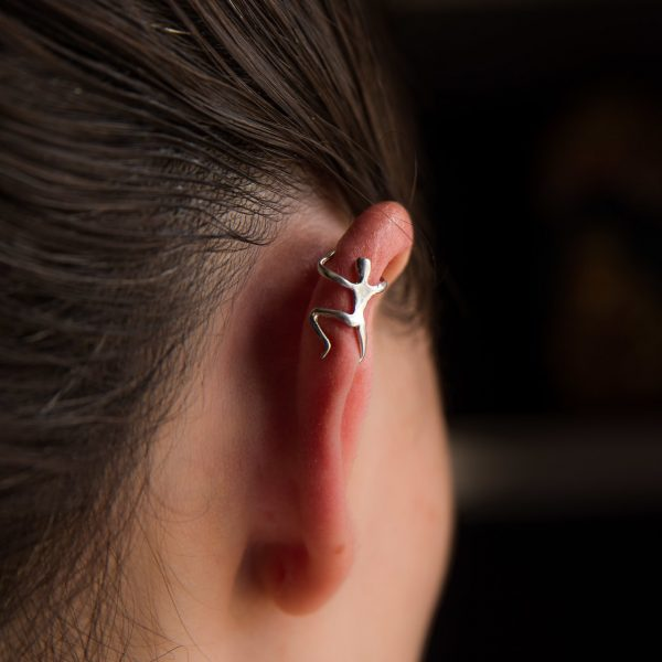 piercing em prata 925 sem furo o escalador