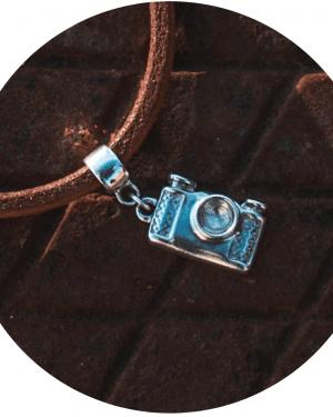 câmera fotográfica berloque viagem