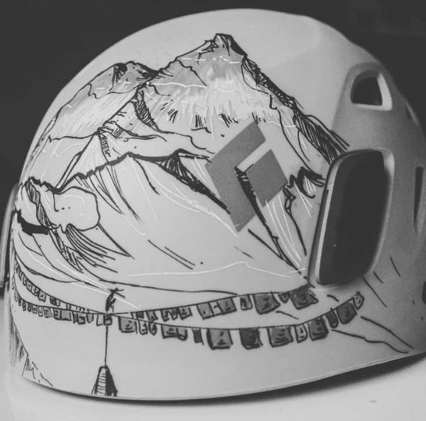 capacete de escalada personalizado por Drilify